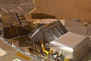 El Phoenix Lander proporciona nuevas evidencias de actividad volcánica en Marte. NASA