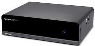Sintonizador TDT HD Siemens Gigaset HD795 T, un mediacenter con buena conectividad