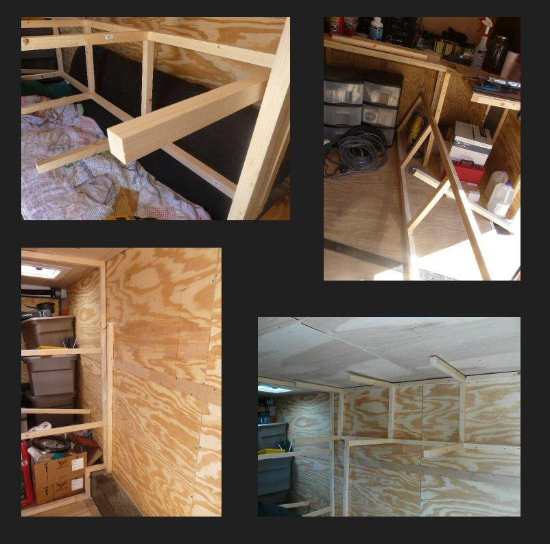 Woodwork Utility Trailer Shelf Plans PDF Plans
