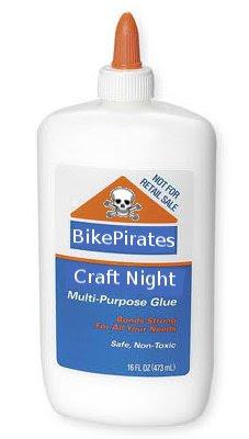 A bottle of Bike Pirate Glue