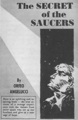 Orfeo Angelucci első könyve