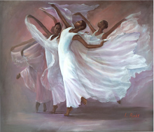 'Angel Wings' by Laverne Ross
