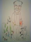 Caricatura de Alfredo