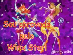 Sou aprovada pelo Winx Star!