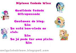 Diploma fadado Winx