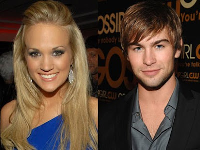 Chace Crawford And Carrie Underwood Kissing. in fact, Crawford has