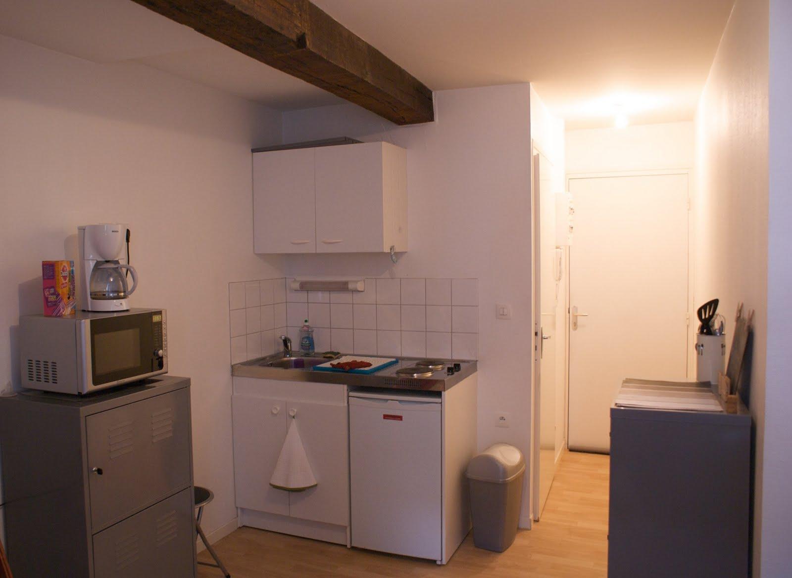 Location Studios à Douai - Cuisine 21 douai