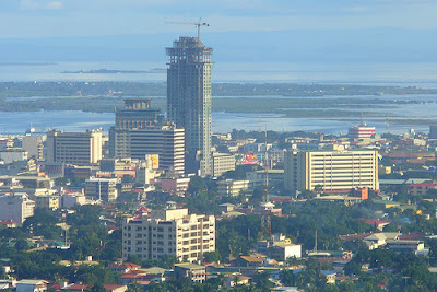 Cebu Skyline From Crown Regency Hotel in Cebu