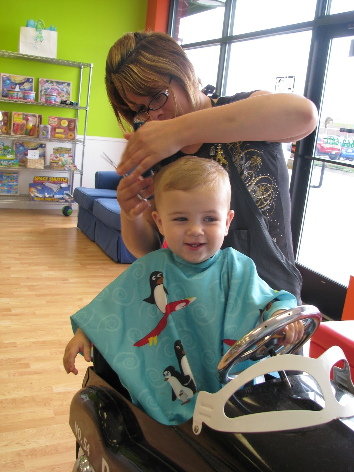 Baby Talk Paper Scissors The Exciting And Dreaded First Haircut