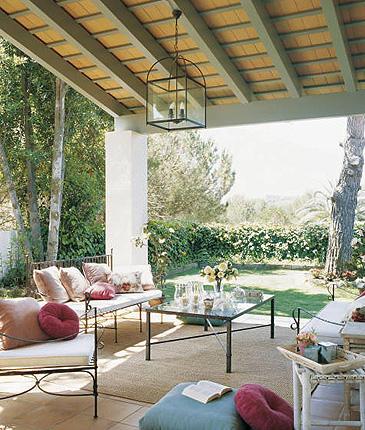 Decorando ambientes iluminacion - Porches y jardines ...