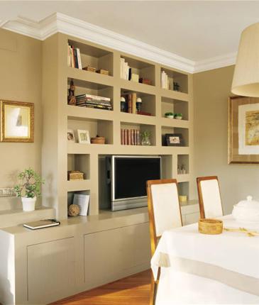 Decorando ambientes noviembre 2010 - Muebles pladur para salon ...