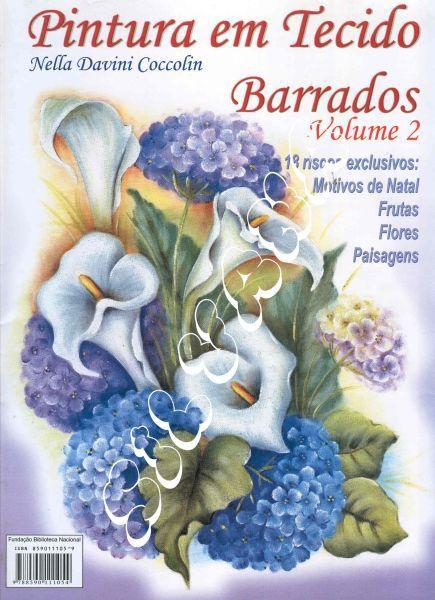 Revistas de Manualidades Para Descargar: Pintura en Tela Volumen 2