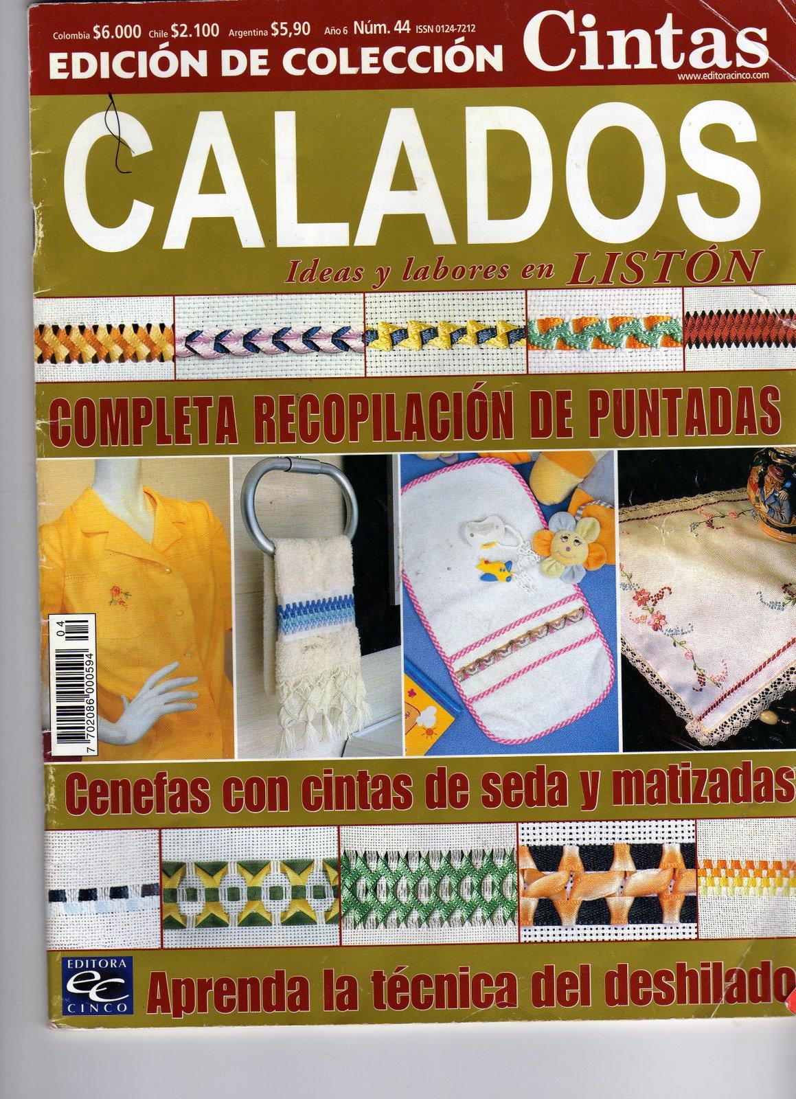 Revistas de Manualidades Para Descargar: Cintas Nº 44 Calados
