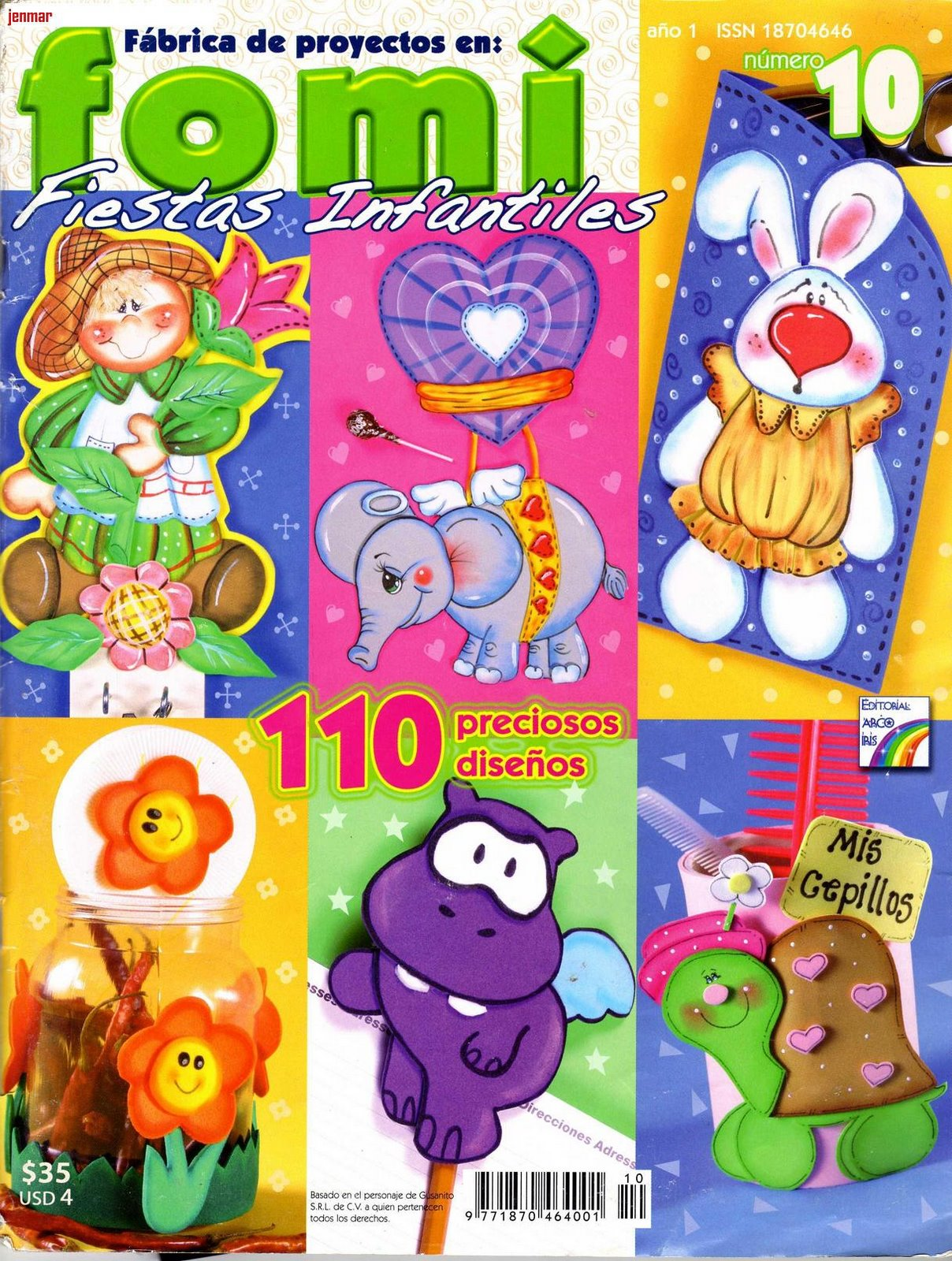 Revistas de Manualidades Para Descargar: Foami Fiestas Infantiles Nº