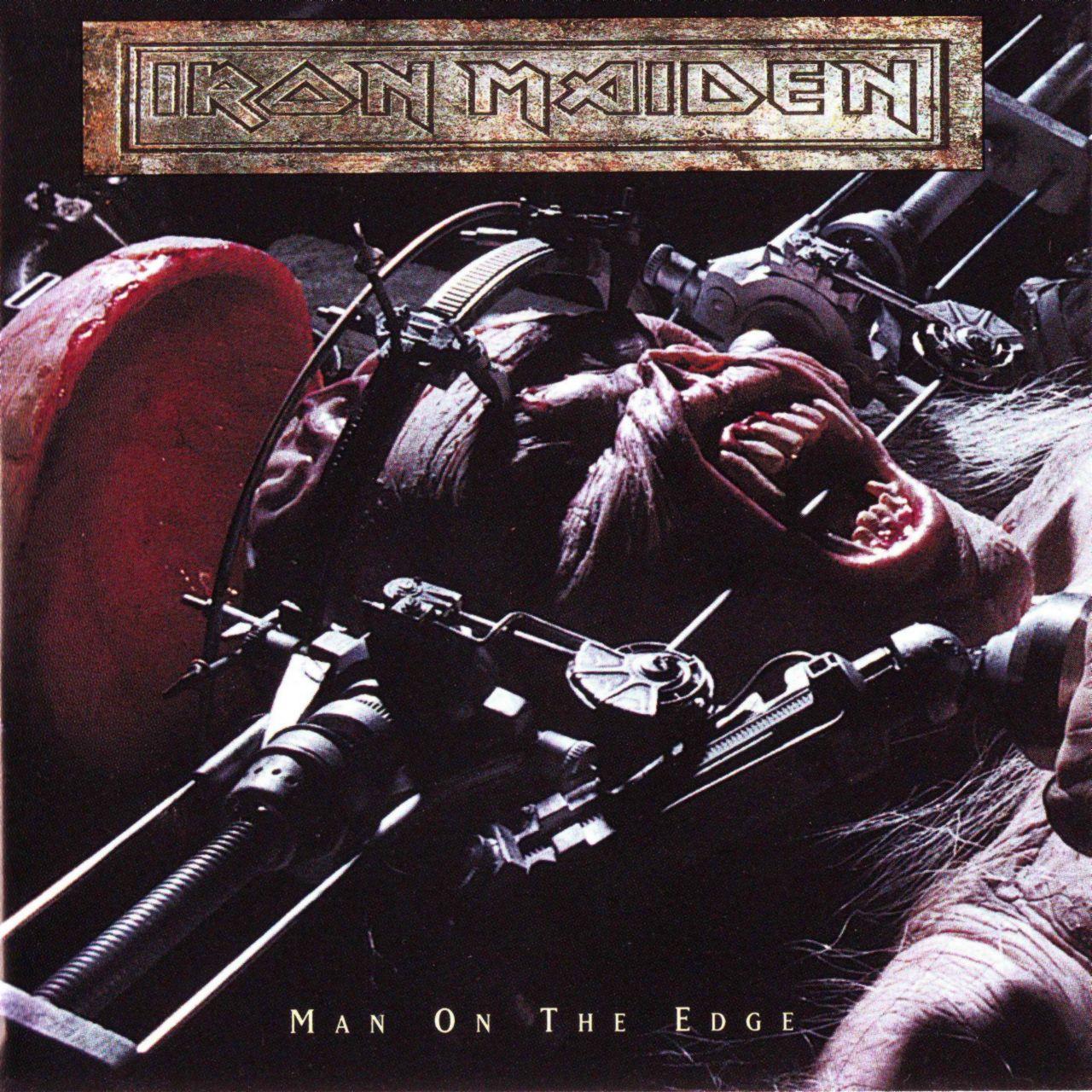 iron maiden man on the edge: