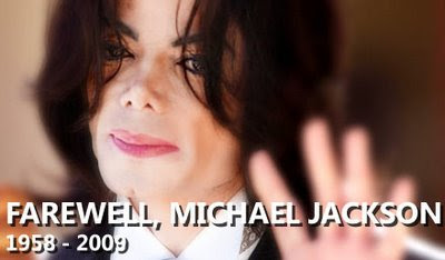 Michael Jackson RIP (photo from MSN)