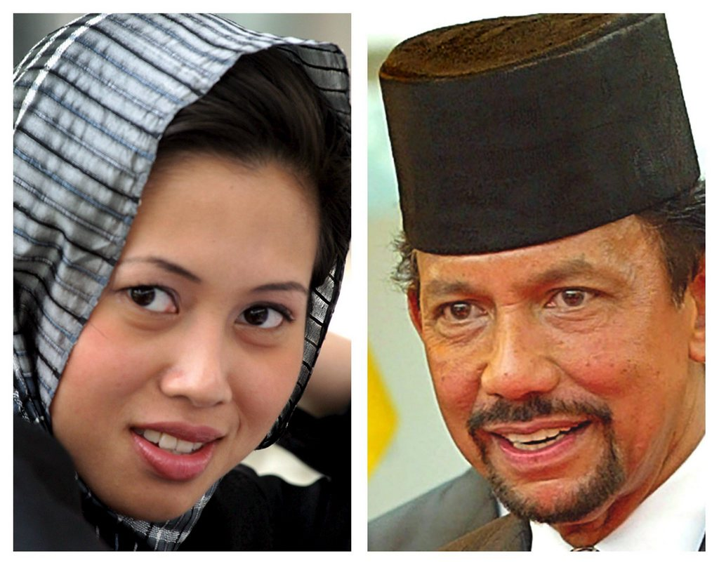 Malaysian Hollywood 2.0: Sultan of Brunei divorced Azrinaz