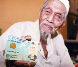 Ahmad Mohd Isa, 110 tahun, mahu mencari isteri