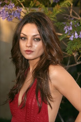 Mila Kunis, she is so gorgeous and hot