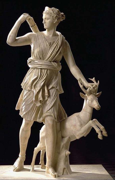 Peplum Artemis Greek God Of The Month Week 2