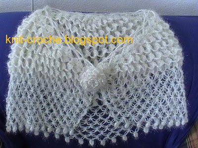 Shell Lace Shawl Knitting Pattern For BEginners | Daily Knitting