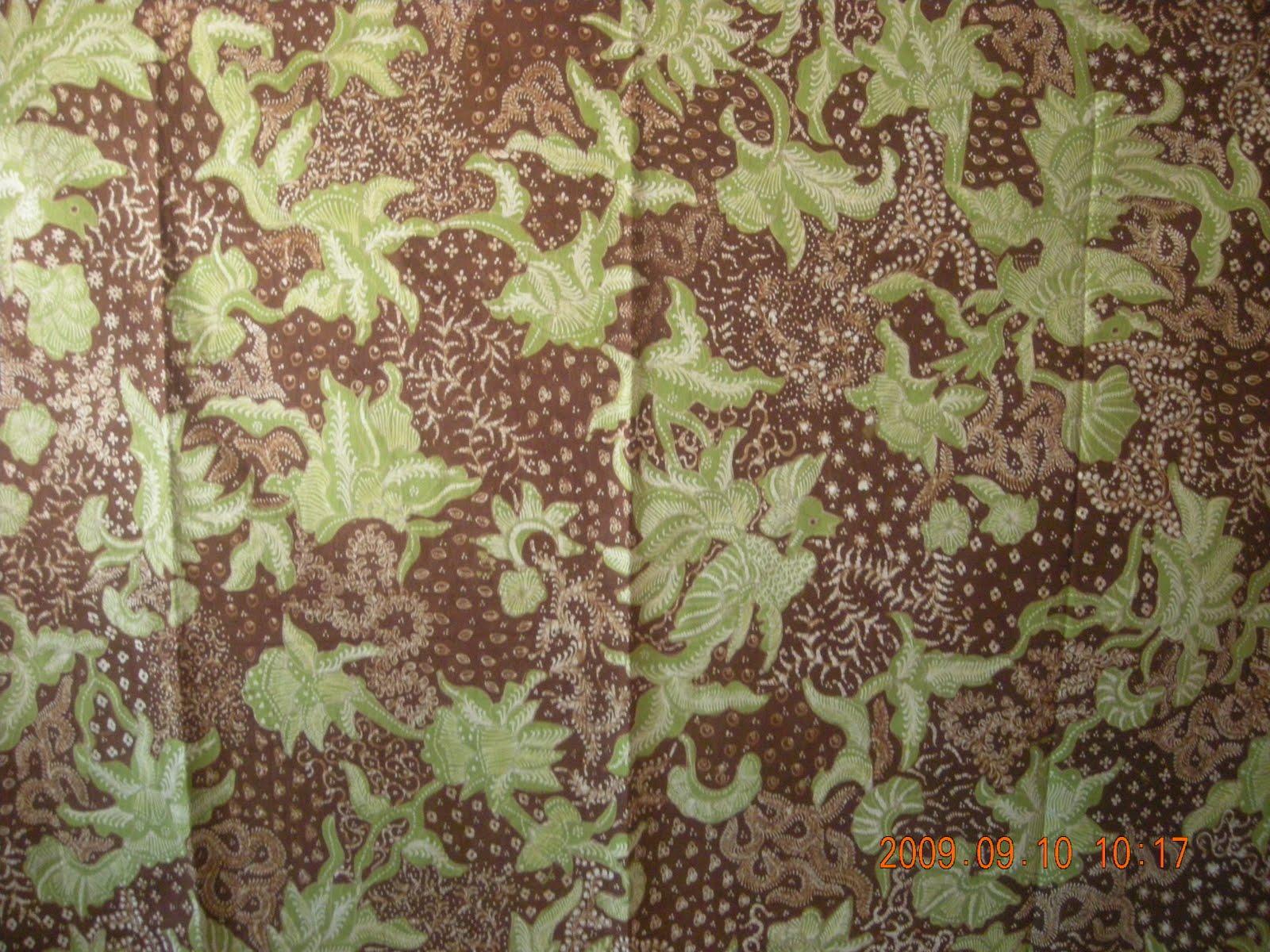 Motif Sekar Jagad Ukuran 110 cm x 240 cm Harga Rp 400 000 Jenis Batik Tulis Produksi Batik Tulis Lasem Warna Tersedia Kombinasi Coklat Hijau