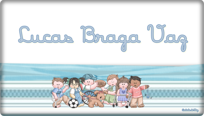Lucas Braga Vaz: Uma Lição de VIDA!!!