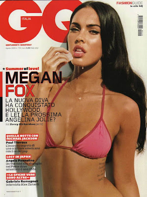 Megan Fox's GQ Cover