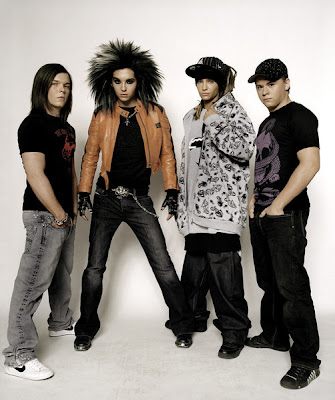 Tokio Hotel Bandfoto