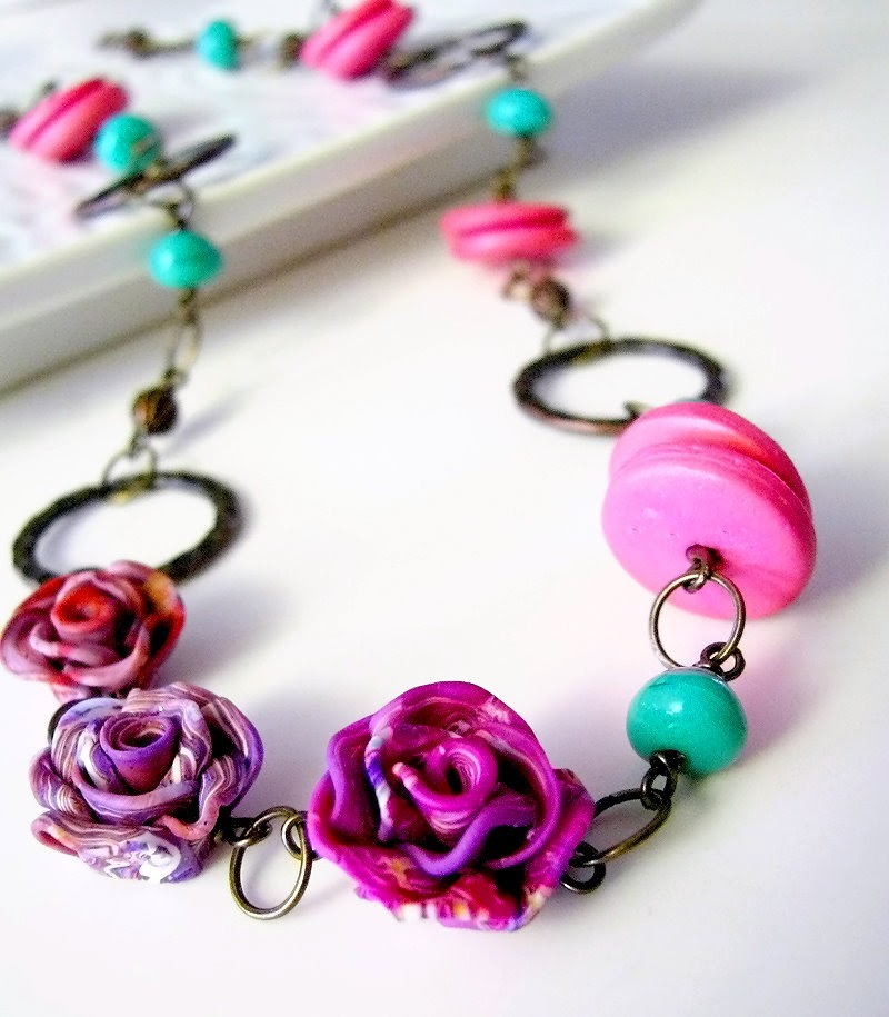 Polymer Clay Color Inspirations: Techniques and Jewelry Projects