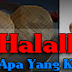 Makanan Halal yang diragui
