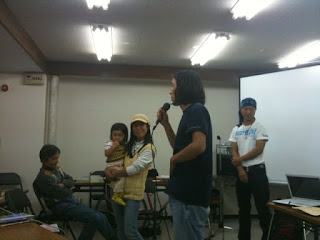 小樽で行われたきくちゆみちゃん、松本英樹さんの講演