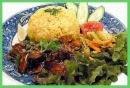 ini pulak gambar nasi ayam...mmg glamourlah kat malaysia