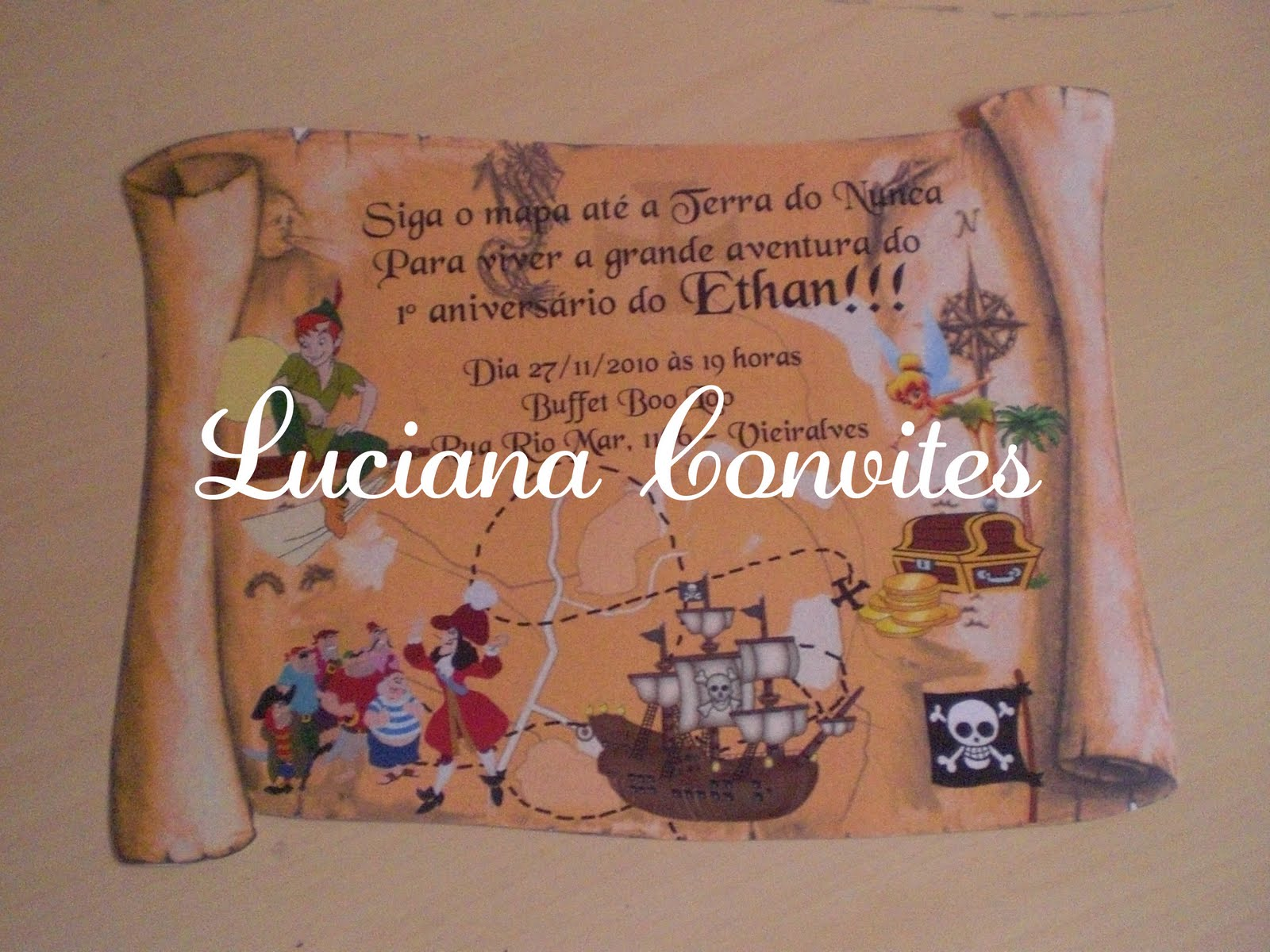 Postado por Luciana Convites Infantis Temáticos às 09:57
