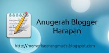 anugerah blog harapan
