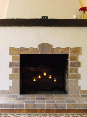 new home construction: New Tile Fireplace for a 1920's ...