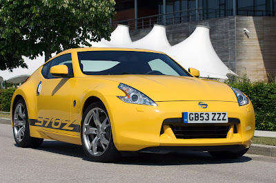 2010 Nissan 370Z Yellow Special Edition