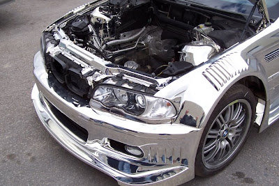 BMW M3 E46 Chrome cowl