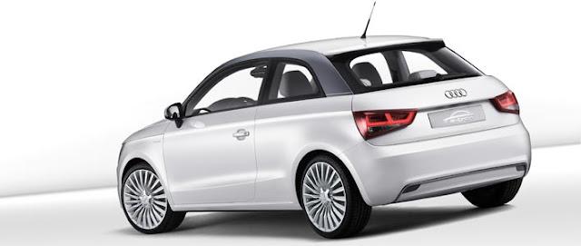 Audi A1 e-tron model design