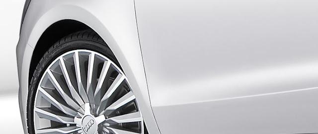 Audi A1 e-tron concept car