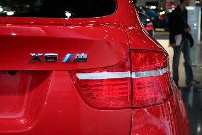 X6 M logo rear