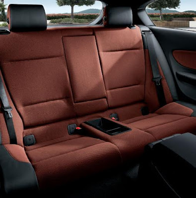 BMW 1 series rear seats