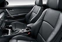 BMW 1 Sport seats