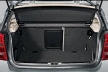 BMW 1 Luggage compartment