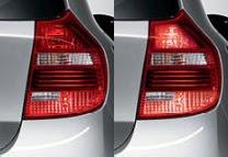 BMW 1 Brake Force Display