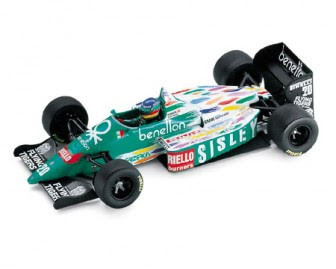 BMW Benetton B186 Formel 1 miniature
