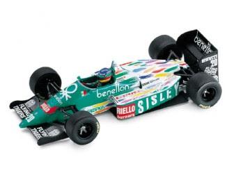 BMW Benetton B186 Formel 1 miniature