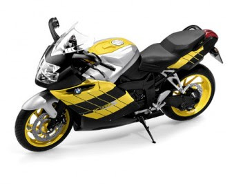 BMW K1200 S Yellow miniature