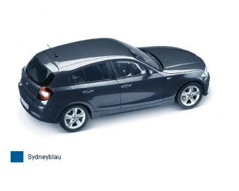 BMW 1 Sydney Blue miniature