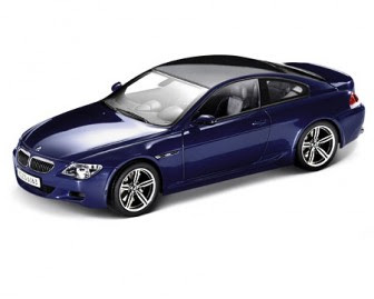 BMW M6 E63 Blue miniature